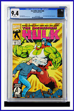 Incredible Hulk #406 CGC Graded 9.4 Marvel June 1993 White Pages Comic Book