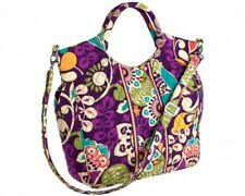 Vera Bradley Two Way Tote - Plum Crazy, new