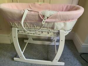 BABY PINK COT BED NURSERY MATTRESS