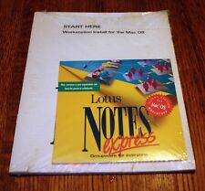 Lotus Notes Express Client Edition for Mac • New (NOS) • Vintage Apple Software