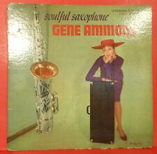 GENE AMMONS SOULFUL SAXOPHONE LP '59 MONO CHESS SOUL JAZZ NICE CONDITION G+/VG!!