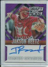 2014 PRIZM DRAFT PURPLE JACKSON REETZ RC AUTO 88/149 NATIONALS FREE SHIP 🔥⚾️
