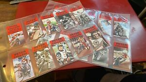 PETER COLLINS--SET OF 20---SPEEDWAY----COLLECTOR'S CARDS--RARE
