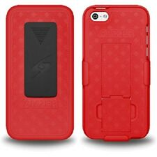 AMZER SHELLSTER SHELL CASE COVER & HOLSTER W/ BELT CLIP FOR APPLE IPHONE 5C 5 C