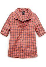 Women's Oakley Cairn Flannel Woven L/S Shirt Sunset Pink Size XS