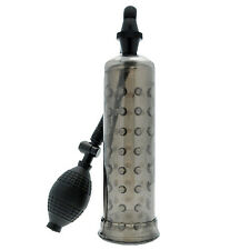 Black Penis Pump Enlarger With Soft Noduled Sleeve Impotence Erection Sex Aid