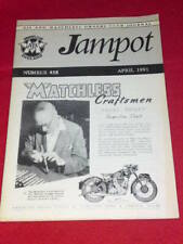 JAMPOT - AJS & MATCHLESS - April 1991 # 458