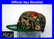 BNWT-Raro-I Z co - 5 Panel Snapback Cap Hat Snap Back todo Multi impresión