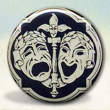 Comedy Tragedy Mask Pocket Mirror tartx