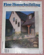 Fine Homebuilding Magazine January 1994 No. 85