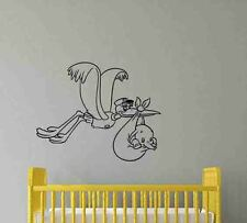 Stork Dumbo Wall Decal Walt Disney Vinyl Sticker Poster Nursery Decor Mural 695