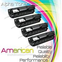 4PK CRG104 FX9 FX10 Black Toner For Canon ImageClass MF4270 MF4350d MF4150 D420