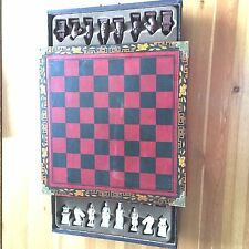 Vintage Style Large Size Chinese Chess Set Xian Terracota Warrior