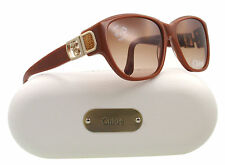 NEW Chloe Sunglasses CL 2242 Toffee Brown C03 CL2242 58mm