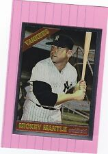 1996 TOPPS MANTLE FINEST #16  MICKEY MANTLE '66 reprint