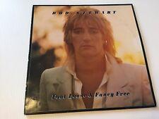 ROD STEWART FOOT LOOSE & FANCY FREE LP VINYL