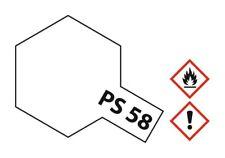 Tamiya Lexan Sprühfarbe PS-58 Perleffekt Klar Polycarbonat 100ml #86058