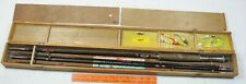 """Vintage Arai Fly Fishing Rod 4 Piece 8' Casting Rod 5' 4"""" in Box Occupied Japan"""