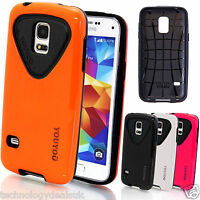 Armoured Glossy Hard Combo Case For Samsung Galaxy S5 G900 Mini G800 Note 3