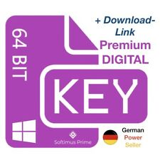 Windows 10 Professional Retail E-Mail Key Aktivierungsschlüssel 64 Bit