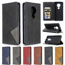 For Nokia 7.2 6.2 4.2 3.2 2.2 Luxury Wallet Flip Stand Leather TPU Case Cover
