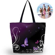 Eco Shopping Travel Shoulder Pouch Tote Handbag Folding Reusable Bag butterfly