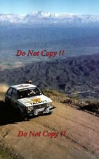 Guy FREQUELIN & Jean Todt TALBOT SUNBEAM LOTUS RALLY ARGENTINA 1981 foto 2