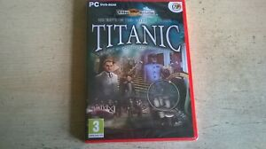 HIDDEN MYSTERIES: TITANIC SECRETS OF THE FATEFUL VOYAGE - PC GAME - NEW & SEALED