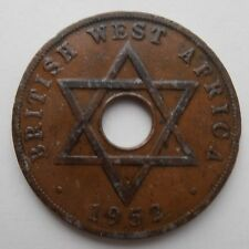 1952 BRITISH WEST AFRICA PENNY