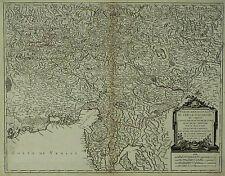 ÖSTERREICH STEIERMARK KÄRNTEN KRAIN & ISTRIEN - Robert de Vaugondy - Karte 175
