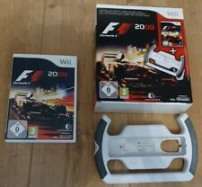 Official Nintendo Wii F1 Formula 1 2009 Game Steering Wheel with Box