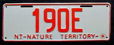 "Nummernschild Australien Northern Australia ""NATURE TERRITORY"" Vanity. S-3773."