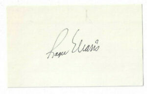 Roger Maris Signed Index Card / Autographed