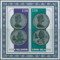 Cook Islands 1974 SG494 Second Voyage Discovery coins MS MLH