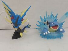 2X Figure Lot Blastoise AND Blue Mega Gyarados 2016 XY NEW Red / Blue Collection