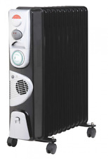 Kingavon Black Electric Space Heaters