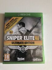 Sniper Elite III 3 Ultimate Edition XBOX ONE Brand New & Sealed
