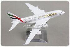 Emirates AIRBUS A380 Passenger Airplane Plane Aircraft Metal Diecast Model