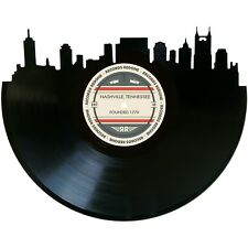 Nashville Skyline Vinyl Record Art