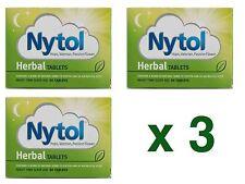 3 x 30 Nytol Herbal Sleep Aid Tablets - Insomnia Sleeping Natural - 90 Tablets