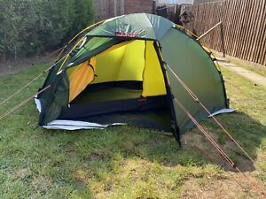 Hilleberg Soulo with NEW footprint 4 season 1 person tent