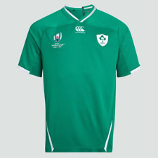 Canterbury Ireland RWC 2019 Home Pro Shirt Mens  SIZE Large  REF C1661^