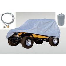 Car Cover 3 Layer With Bag & Lock  Jeep CJ Wrangler 55-06 13321.72 Rugged Ridge