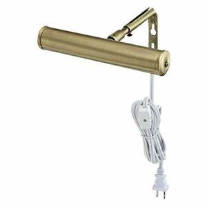 Westinghouse Lighting 7505200 7-Inch Slimline Picture Light Antique Brass Single