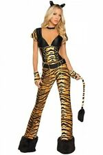 Brand new sexy  tiger jumpsuit party costume outfit  Size 6/8