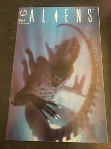 """Aliens#2 Incredible Condition 8.5(1989)""""Movie Adaption"""""""