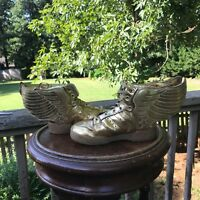 BABY 8K Adidas Originals JS Jeremy Scott Wings 2.0 Mirror Gold I Metallic M29013