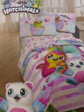 2 pc Hatchimals Twin Microfiber Comforter and Decorative Pillow NIP