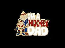 I'm A Hockey Dad Lapel Pin - Proud As Punch Of His Future Star