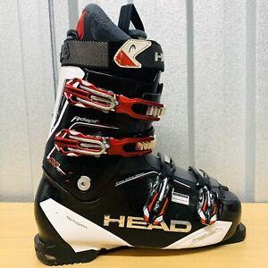 2015 HEAD Adapt Edge 90 Ski Boots Size 10/10.5 Flex 90-80 FREE POST